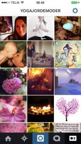 yogajordemoder på instagram
