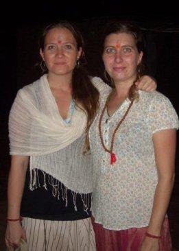 Camill og Nikoline i Indien 2010